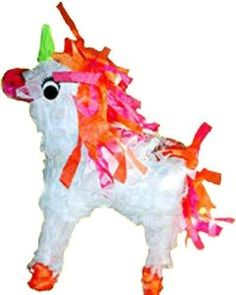 "Unicorn Pinata 8"" (Treat Filled) Bird Toy: Bird Gift"