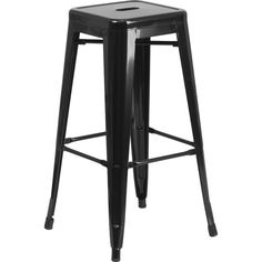 Found it at Joss & Main - Gauge Barstool....LOTS OF COLORS...DISTRESSED BLUE...BLACK/ANTIQUE GOLD...PURPLE