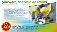 Programa para construtoras controle compras e financeiro