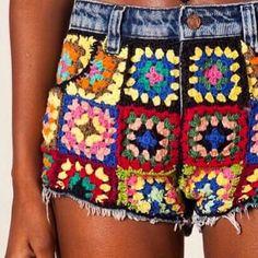 Crochetemoda: Ana Maria Braga - Crochet Colorido