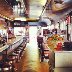 Always empty / no wait compared to the Soho location. Also in an old renovated diner.