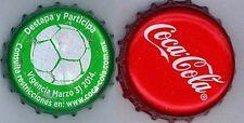 BOTTLE CAPS  COCA COLA  (2) -  MEXICO