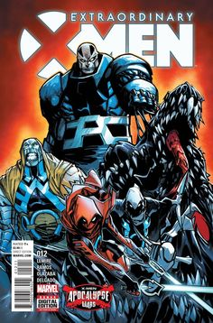 """MARVEL COMICS (W) Jeff Lemire (A) Humberto Ramos, Victor Olazaba (CA) Humberto Ramos """"APOCALYPSE WARS"""" CONCLUSION! • Trapped a thousand years in the future on a world ruled by the genocidal tyrant Apo"""