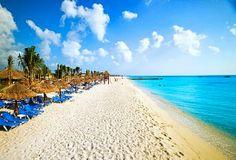 Beautiful Cozumel beach, Mexico