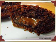Muffins bomba de chocolate