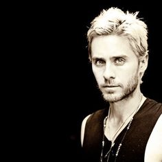 Jared Leto blonde