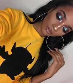 ⚠️ATTENTION:Pinterest: @blu333___ Add sc: just.blu333 YouTube: Blue's with blu333 TUMBLER: justblu333 ⚠️INSTAGRAM:blu333___ #blu333___ #makeupupinspo #makeuplook #slayedmakeup #issalook #instagrammakeuplook #instagrambaddiemakup #instagrammakeupbaddielook #highlight #slayedeyebrows #slayedeyelashes #makeupideas #everydaymakeuplook #facebeat #eyemakeup