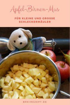 Apfel-Birnen-Mus ist nicht nur für das Baby ein leckerer Obstbrei, sondern auch ein leckerer Nachtisch für alle großen Schleckermäuler. Ob zu Pfannkuchen, auf Eis oder pur - unser Rezept mit Äpfeln und Birnen schmeckt der ganzen Familie: http://www.breirezept.de/rezept_apfel-birnen-brei.html
