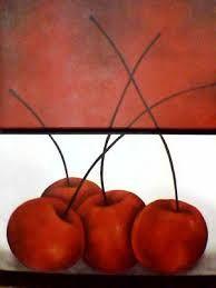 Resultado de imagen para pinturas de cerezas