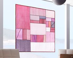 Mondrians composition inspired design Covering window