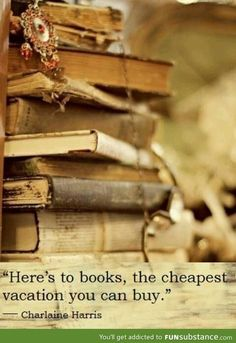 Here's to books
