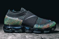 Our First Look At The Nike Air VaporMax Strap Multicolor Sneakers Fashion, Shoes Sneakers, Sporty Fashion, Men's Shoes, Fashion Models, Workout Shoes, Workout Outfits, Fitness Outfits, Nike Air Vapormax