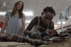 Melanie C in Zambia for Comic Relief