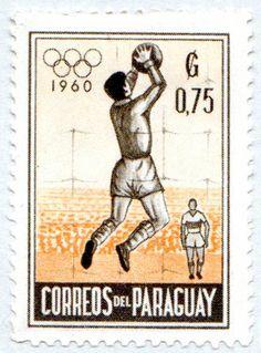 1960 Olympics poststamp