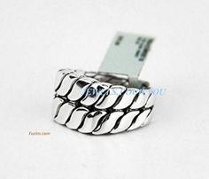 David Yurman Curb Chain Signet #Ring #Sterling Silver (#324) #DavidYurman
