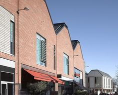 Best Commercial Building Finalist: Hereford Old Market. Best Urban Regeneration Project. Designed by Allies and Morrison using Wienerberger's Whitton Multistock bricks.