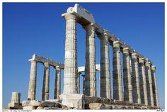 Ο Ναός του Ποσειδώνα,  χτίστηκε το 520 π.Χ.