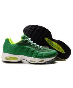 reputable site 4fa5d b2ad1 Cheap Discount Nike Air Max 95 Mens Premium Trainers Dark Green Shoes On  Sale Store