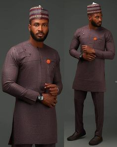 Stunning Traditional Men fashion 🔥🔥🔥 🔸 giantriseentertainment giantrise intl giantriseintl is part of Nigerian men fashion - African Male Suits, African Wear Styles For Men, African Shirts For Men, African Dresses Men, African Attire For Men, African Clothing For Men, African Style, African Women, Dashiki For Men