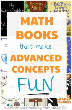 Math picture books that make math fun for 8-12 year olds
