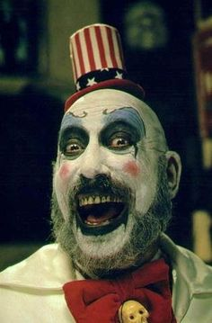 "Captain Spaulding from "" House of 1000 corpses"""