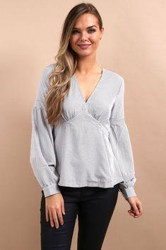 Winter Tops For Women, Work Attire, Long Sleeve Shirts, Women Wear, Cute Outfits, Ruffle Blouse, Feminine, Casual, Womens Fashion