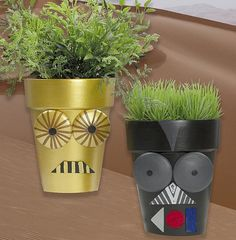 Create This Project With Patio Paint Outdoor™ U2014 Robotics Meets Home Décor  In These Unique