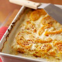 butternut squash lasagna - yum!