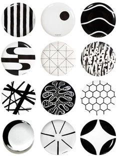 Plates with pattern from Swedish