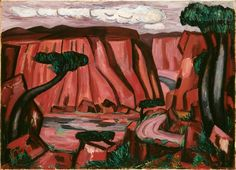 Marsden Hartley (American, 1877–1943) New Mexico Recollection #6 1922 Oil paint on canvas
