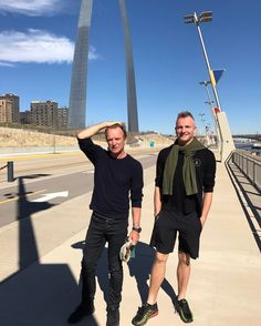 #FBF Exploring the sights of St. Louis with @thejoesumner. Enjoying all of the adventures on the #57thAnd9thTour. Thank you to Minneapolis and Chicago this week. Toronto and Montreal - coming for you next! Info at www.sting.com