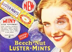 beech-nut luster-mints 1932, via Flickr.