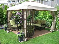 Cool-Backyard-Ideas-with-Gazebo | VivaLaVintage - For Your Home