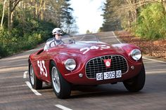 An Italian Automotive Tradition | Sotheby's - THE 1952 FERRARI 212 EXPORT BARCHETTA BY TOURING WILL BE OFFERED BY RM SOTHEBY'S AT VILLA ERBA THIS MAY.
