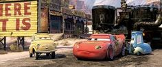 Every time Bessie the road pavement machine spits tar on the cars pulling it in Cars (twice in the movie, once during the end credits), she makes laughing sounds, indicating that perhaps she does. Disney Movie Trivia, Walt Disney Pixar, Disney Cars, Disney Movies, Disney Characters, Disney Timeline, Road Pavement, Cars 2006, Car Memes