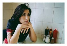 Amy Winehouse photographed in London in 2004