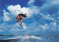 Wakeboard Flying - Courtesy of Tom King Photography and boatcovers.iboats.com