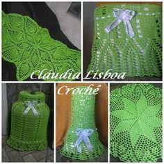 Cláudia Lisboa Crochê !: Capa de botijão , liquidificador , batedeira, etc...