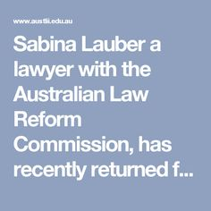Sabina Lauber a lawyer with the Australian Law Reform Commission, has recently returned from a conference in Manila on the sexual exploitation of women where she presented a paper on Australian and International laws affecting Filipino women in Australia. In this article she reports on the conference and the study tour that preceded it.