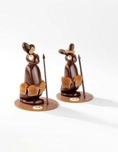 Guerriers Massaï en chocolat - Fabrice Gillotte