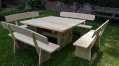 Garentmbel aus eiche4 Picnic Table, Furniture, Home Decor, Homemade Home Decor, Home Furnishings, Interior Design, Home Interiors, Decoration Home, Home Decoration