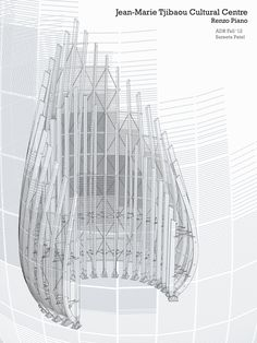 Architectural Drawing + Representation 1 : Columbia Abstract