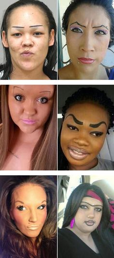 These women scary eyebrows will make you laugh
