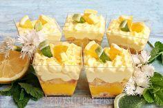 Cytrynowe tiramisu - PrzyslijPrzepis.pl Sweets Recipes, No Bake Desserts, Lemon Curd, World Recipes, Candy Buffet, Cakes And More, Catering, Bakery, Cheesecake