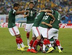 México 1 x 0 Camarões