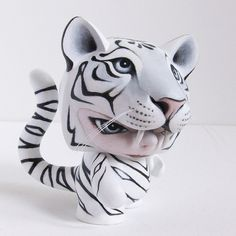 White Tiger by @thepumpkintide for @collectanddispl