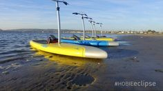 Hobie Mirage Eclipse pedal and go stand up paddle board.