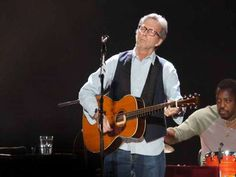 Eric Clapton in Jacksonville April 26, 2013. Amazing to see Slowhand again!