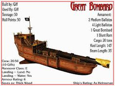 Spelljammer Ship - Great Bombard