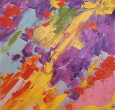Colour comes alive on this magnificent oil painting canvas... get yours online at Homesquare.ie today! Hue Multi Yellow Abstract, €70